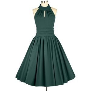 Dresses - Plus Size Pin Up Swing Dance Clothing Circle Dress
